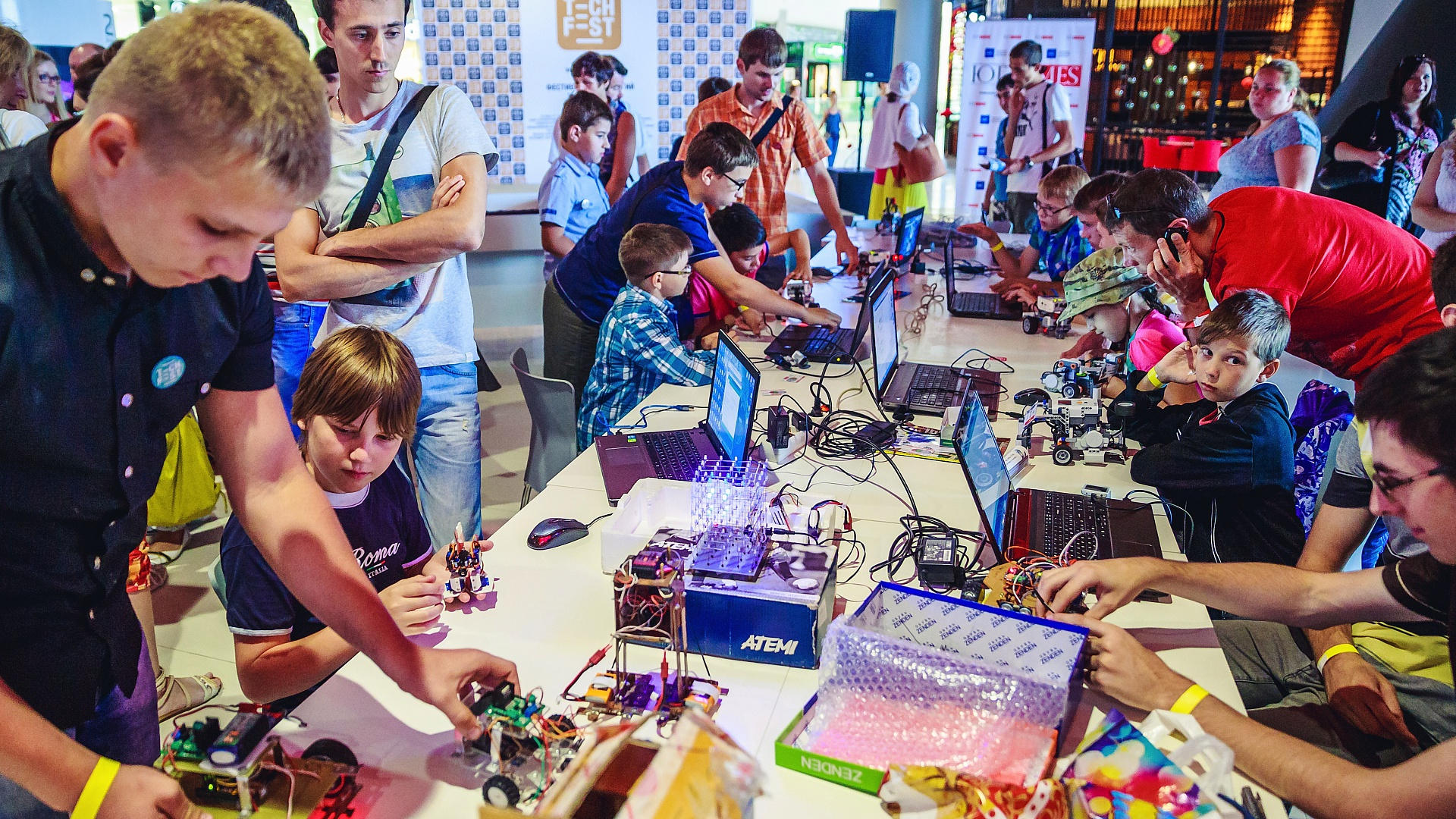 Фестиваль технологий Kharkiv Mini Maker Faire | 4 ноября
