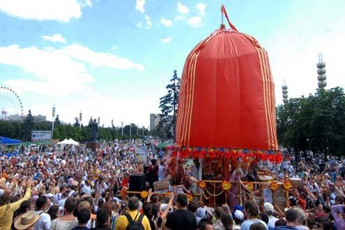 Праздник Колесниц в Харькове