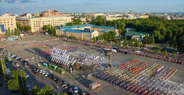 Ко Дню защиты детей на площади Свободы пройдет массовый флешмоб