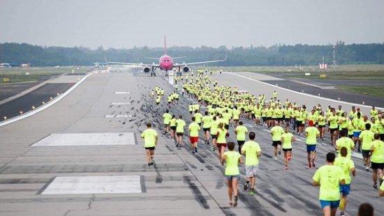 У Харкові спортсмени пробіжать дистанцію по злітно-посадковій смузі аеропорту