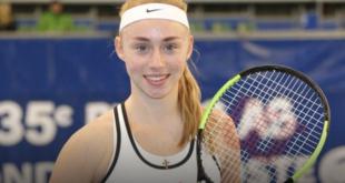 В Харьков после юниорского турнира серии «Большого Шлема» по теннису «US Open» вернулась Дарья Лопатецкая