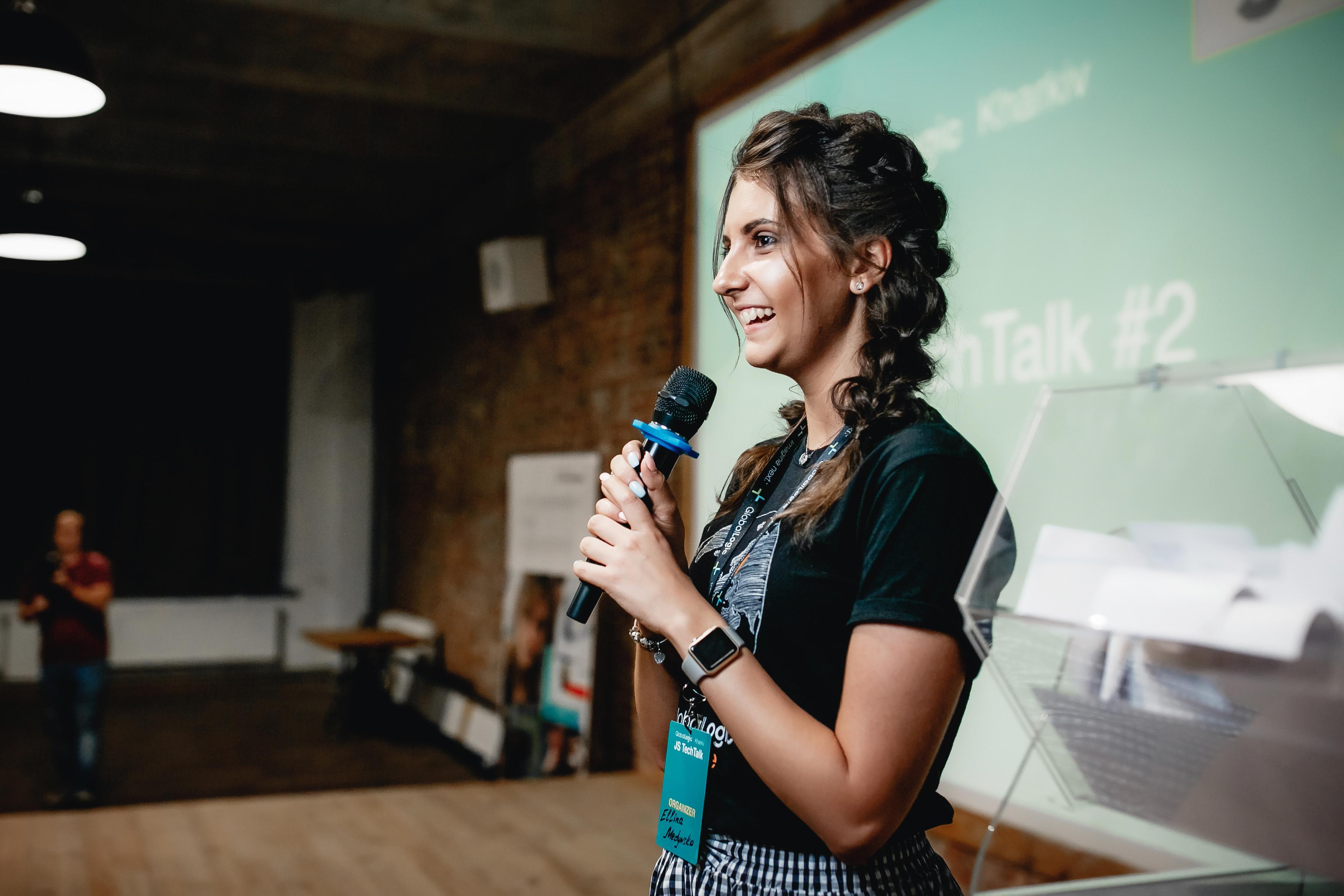 Эллина Медынская. PR & Marketing Consultant в харьковском офисе GlobalLogic