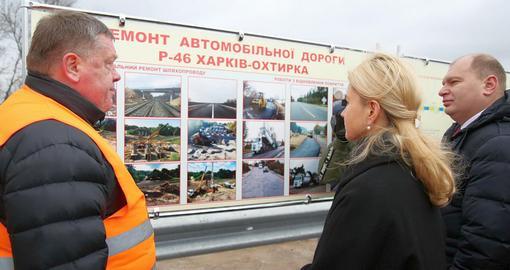 Харьковщина достигла наивысших результатов по ремонту дорог