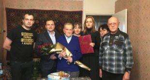 Харьковчанин Павел Шеин отметил 100-летие
