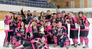 Харьковские хоккеистки заняли первое место на чемпионате Украины