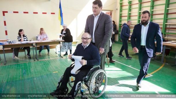 Кернес рассказал о явке на выборах в Харькове