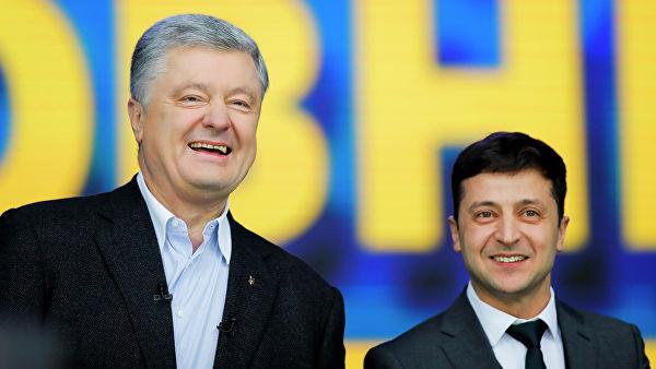 За все хорошее, против всего плохого: как прошли дебаты Порошенко с Зеленским