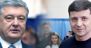 """73% у Зеленского против 27% у Порошенко. """"Рейтинг"""" опубликовал свежий соцопрос"""