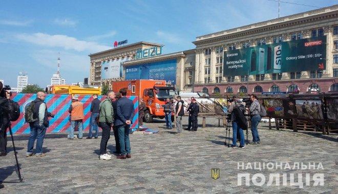 Палатка на площади Свободы может стоять до конца года - полиция