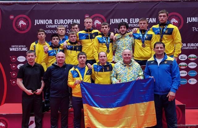 Харьковские борцы завоевали награды чемпионата Европы