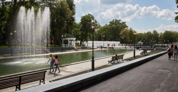 В саду Шевченко появится необычный фонтан