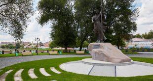 В Харькове обновили сквер Стрелка