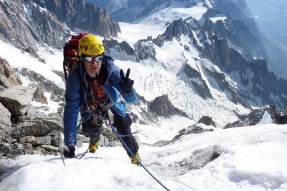 Харківські альпіністи здолали найскладніший маршрут в Альпах