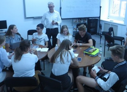 Немецкие школьники знакомятся с историей Харькова