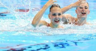 Четвертую медаль завоевали харьковские синхронистки на чемпионате мира