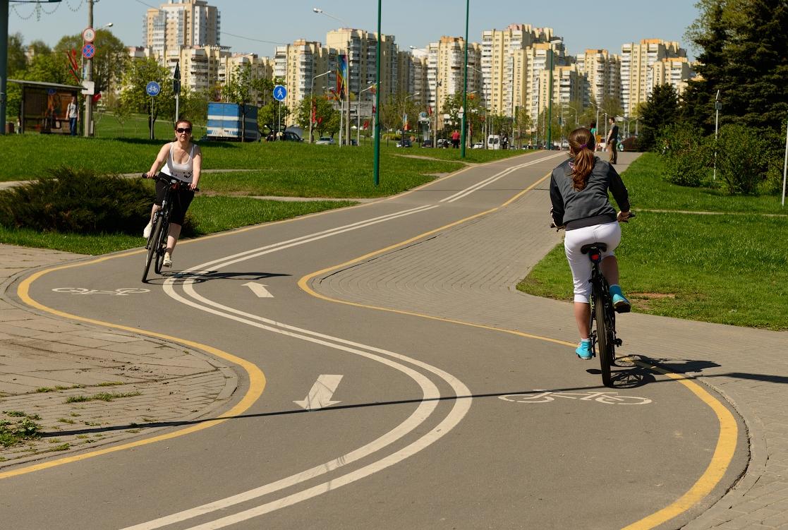У Саржиному яру з'явиться велодоріжка з естакадою