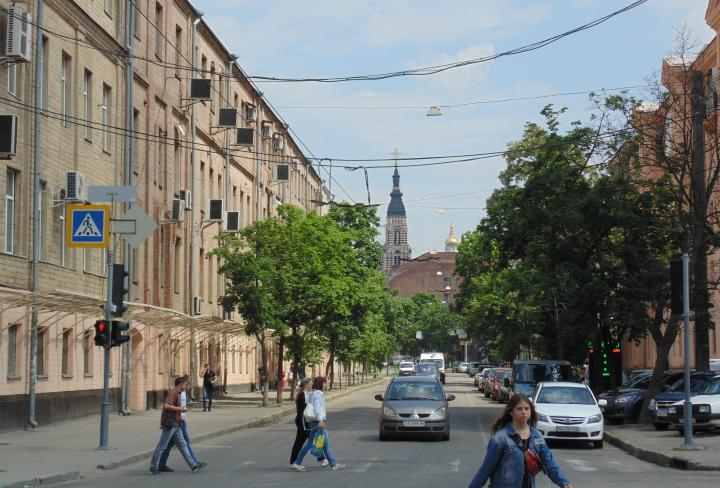 С сегодняшнего дня закрывается движение по Коцарской в Харькове