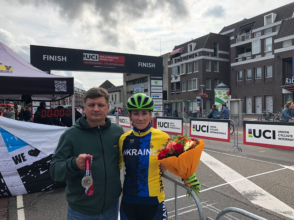 Харьковская велосипедистка выиграла мировое «серебро»