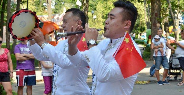 В парке Горького проходят Дни китайской культуры
