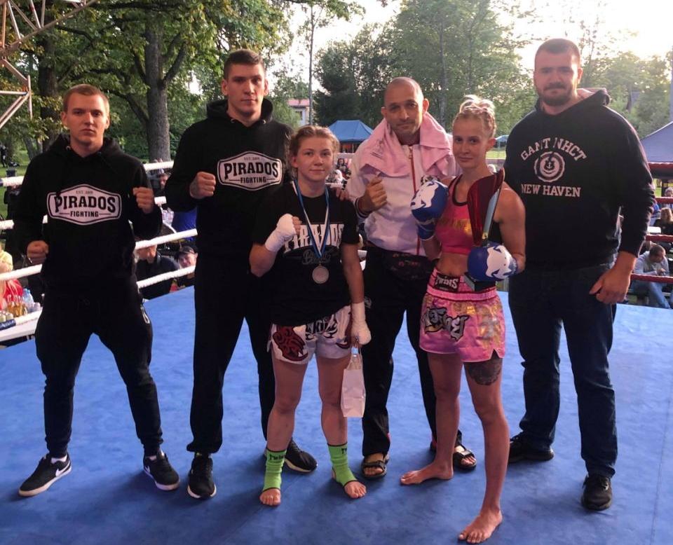 Харьковчанка победила на турнире боевых искусств в Эстонии