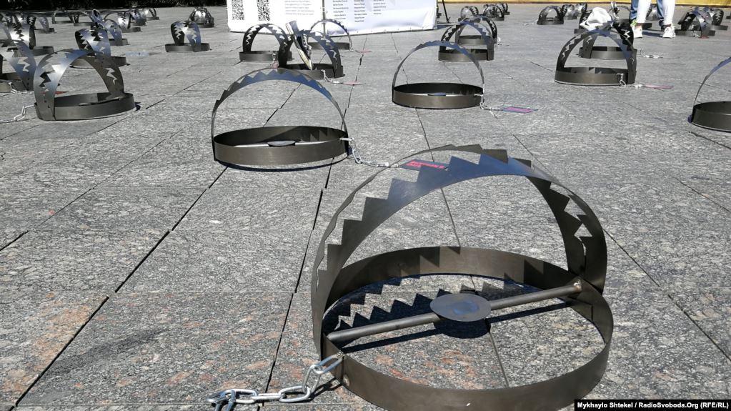 В Харькове расставят 120 капканов на акции «Узники Кремля»