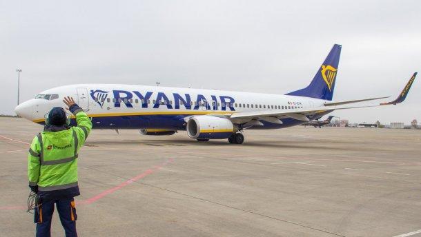Ryanair відкрив рейс з Харкова до Вільнюса