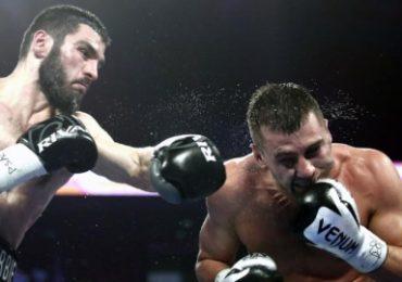 Гвоздик проиграл россиянину бой за два чемпионских пояса