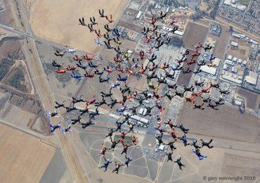 Харьковские парашютисты установили мировой рекорд