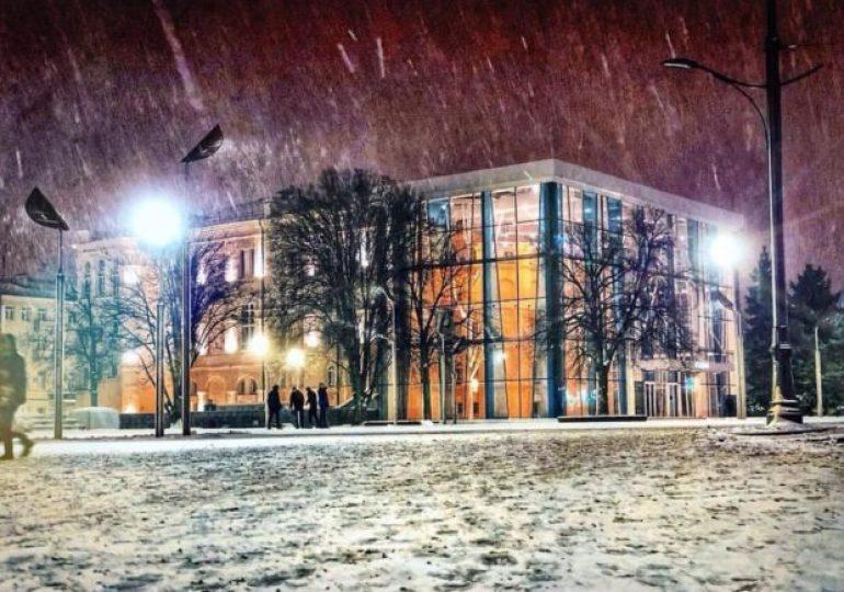 Синоптики обещают снег в Харькове