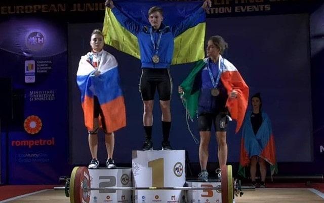 Харьковчанка завоевала золотую медаль на чемпионате Европы
