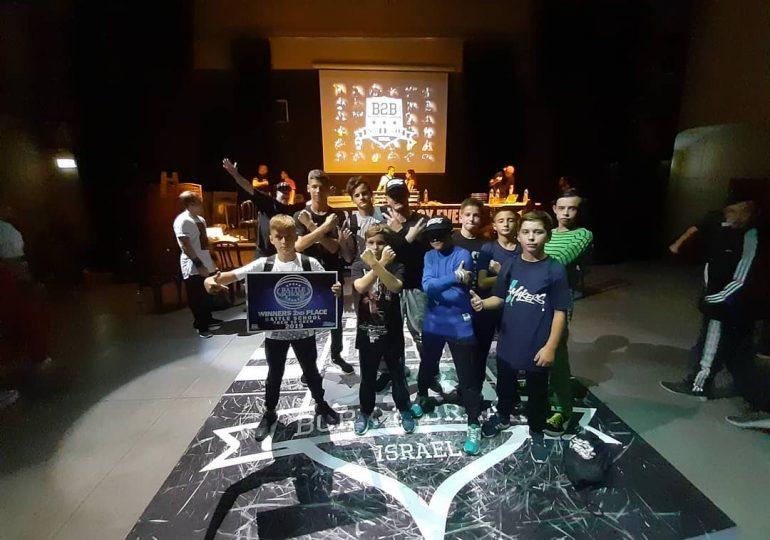 Харьковская брейкинг команда X-makers взяла серебро на чемпионате в Израиле