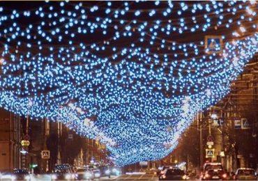 """На центральній вулиці Харкова зроблять новорічне """"зоряне небо"""" за 18 мільйонів гривень"""