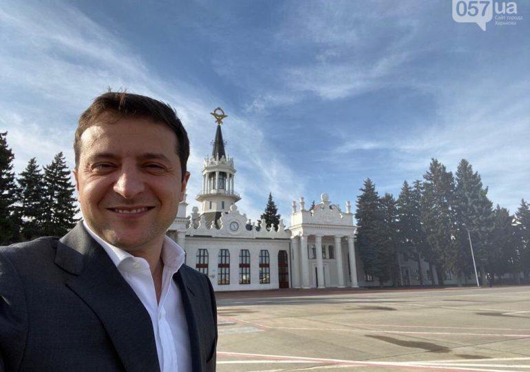 Зеленский в Харькове