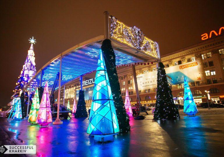 На площади Свободы откроют главную елку и новогоднюю ярмарку
