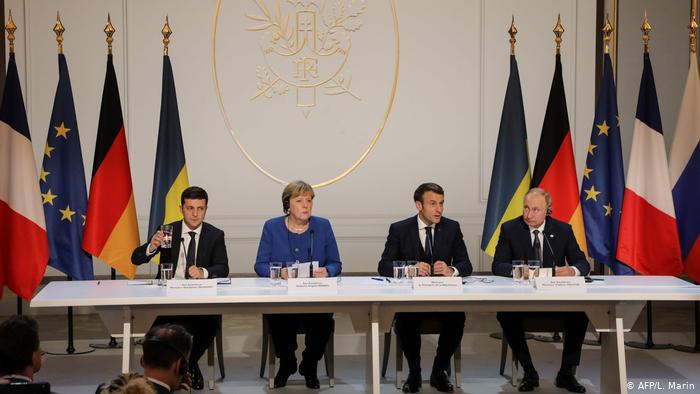 """Дев'ять годин переговорів: як у Парижі пройшов саміт """"нормандської четвірки"""""""