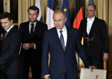 У Парижі завершилася зустріч Зеленського і Путіна