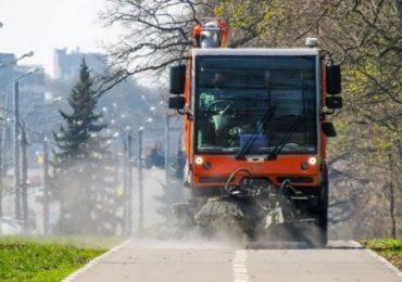 В Харькове до конца карантина будут дезинфицировать дороги