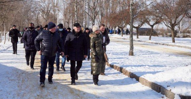В Харькове реконструируют Основянский сквер