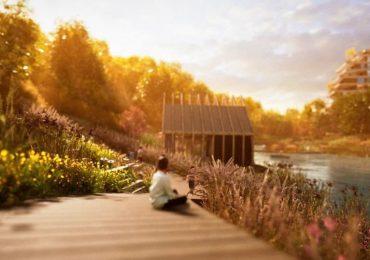 Ремесленный рынок, общественный парк и озеро: в Киеве на Подоле появится новый микрорайон