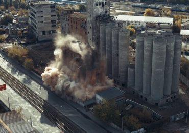 В Харькове снова будут взрывать заброшенный элеватор в районе Южного вокзала