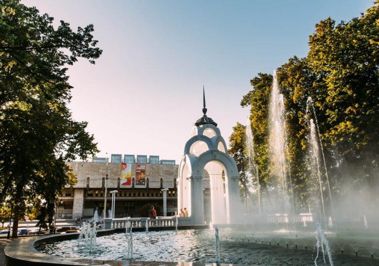 В центре Харькова открыли сезон фонтанов