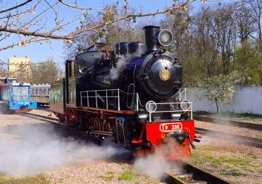 На Сырце детская железная дорога открыла новый сезон работы