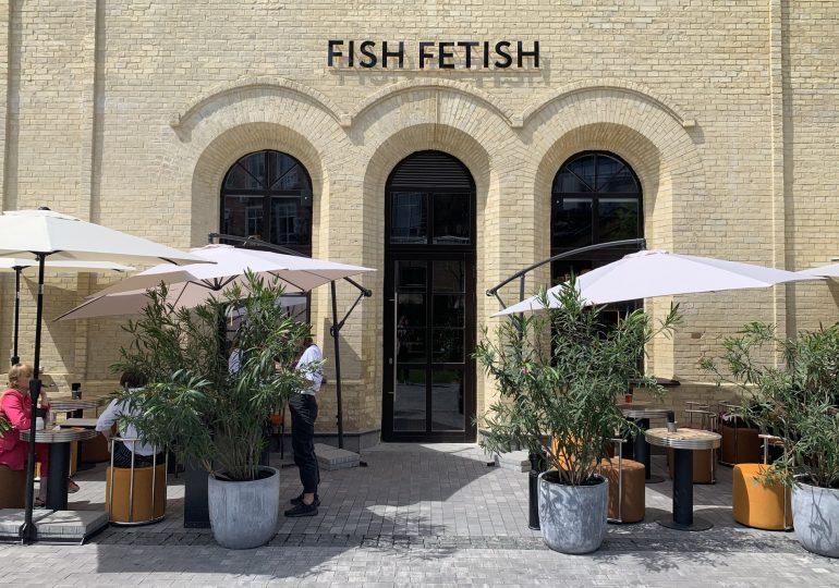 Ресторан Fish Fetish біля «Арсенальної»