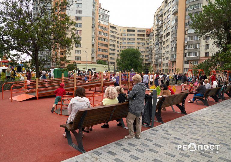 В Слободском районе открыли современную игровую площадку