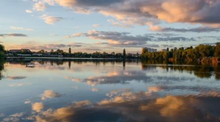 Києві побудують величезний арочний міст через озеро Радунка